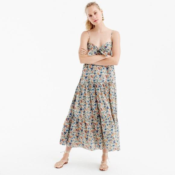 2175bf07f7b6 J. Crew Dresses & Skirts - J.Crew Liberty Rachel Floral Midi Maxi Dress